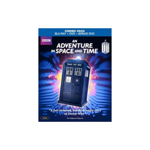 DR WHO-AN ADVENTURE IN SPACE & TIME (BLU-RAY/DVD/3 DISC) 883929406166