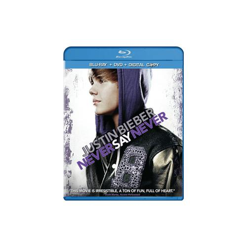 JUSTIN BIEBER-NEVER SAY NEVER (BLU-RAY/DVD/DC/2 DISC) 883929302093