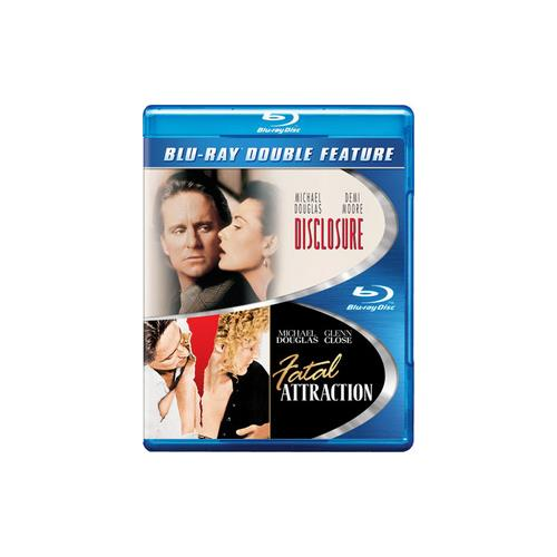 DISCLOSURE/FATAL ATTRACTION (BLU-RAY/DBFE) 883929310739