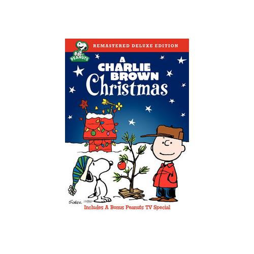 PEANUTS-CHARLIE BROWN CHRISTMAS (DVD/DELUXE EDITION) 883929006472