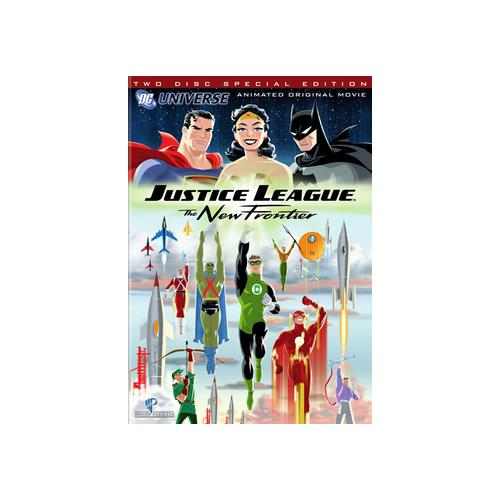 JUSTICE LEAGUE-NEW FRONTIER (DVD/2 DISC/SPECIAL EDITION) 883929008483