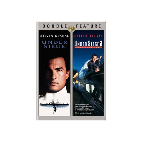 UNDER SIEGE/UNDER SIEGE 2-DARK TERRITORY (DVD/DBFE/WS) 883929029990
