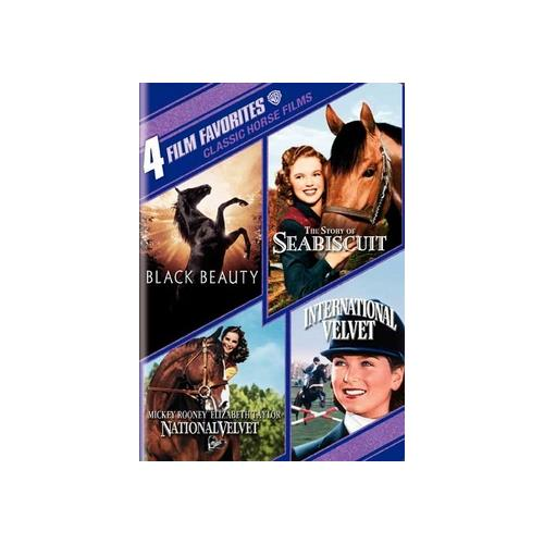 4 FILM FAVORITES-CLASSIC HORSE FILMS (DVD/2 DISC) 85391174172