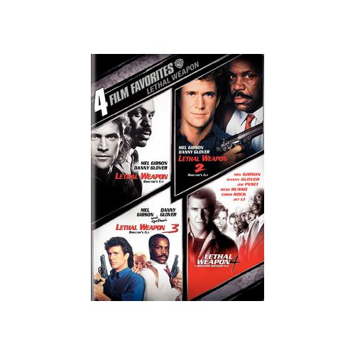4 FILM FAVORITES-LETHAL WEAPON (DVD/2 DISC) 85391174301
