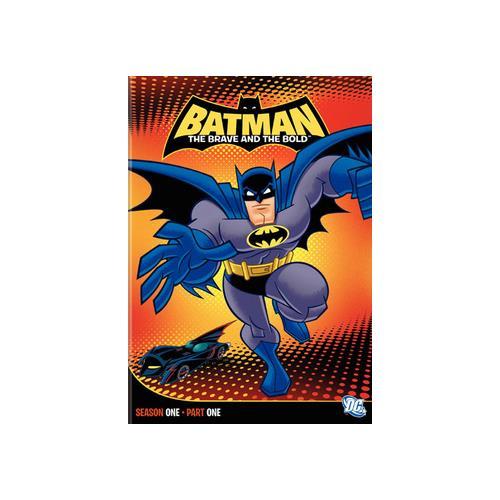 BATMAN-BRAVE & BOLD-SEASON 1 PART 1 (DVD/2 DISC/13 EPISODES) 883929124923