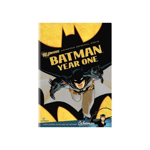 BATMAN YEAR ONE (DVD/MFV) 883929153589