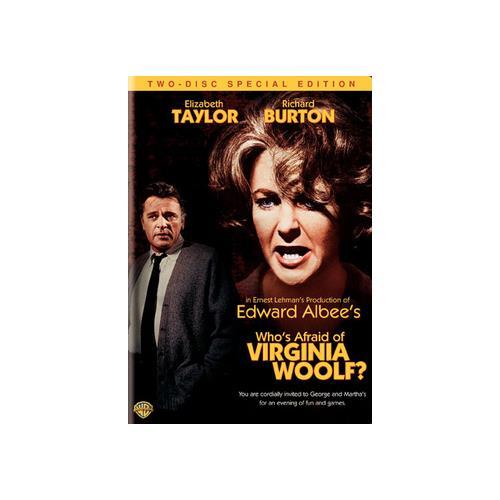 WHOS AFRAID OF VIRGINIA WOOLF (DVD/WS/FS/ECO/NEW-PKG) 883929157877