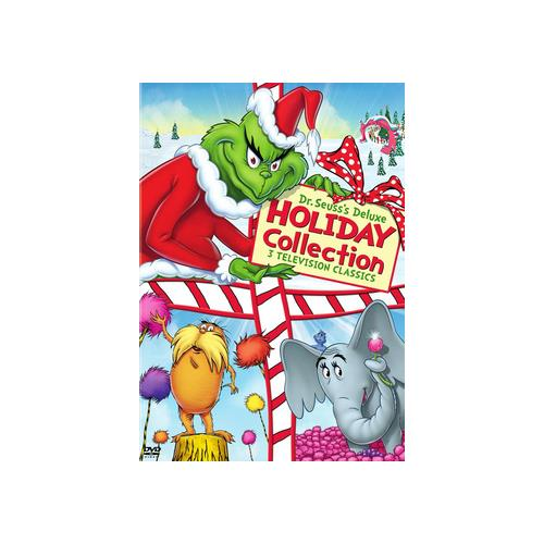 DR SEUSS DELUXE HOLIDAY COLLECTION (DVD/3 DISC) 883929263905