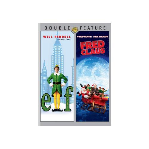 ELF/FRED CLAUS (DVD/DBFE) 883929269198