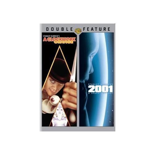 CLOCKWORK ORANGE/2001 SPACE ODYSSEY (DVD/DBFE) 883929272662