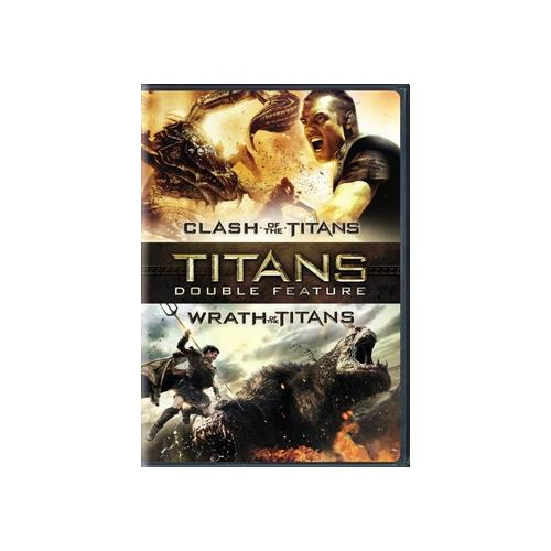CLASH OF THE TITANS/WRATH OF THE TITANS (DVD/DBFE) 883929351466