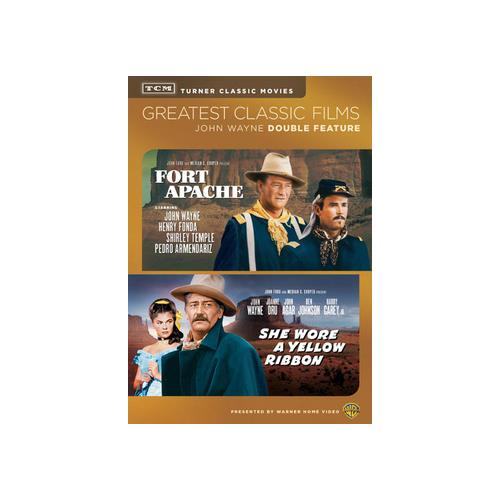 TCM-FORT APACHE/SHE WORE A YELLOW RIBBON (DVD/DBFE) 883929354054