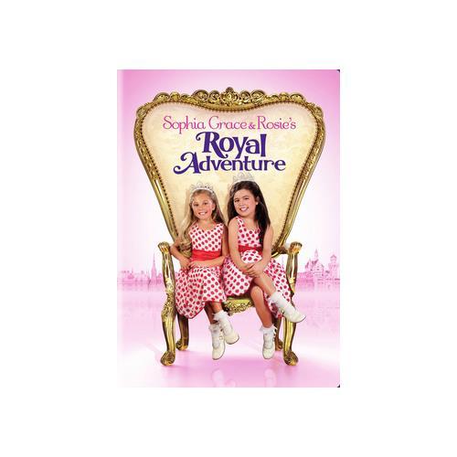 SOPHIA GRACE & ROSIES ROYAL ADVENTURE (DVD) 883929355174