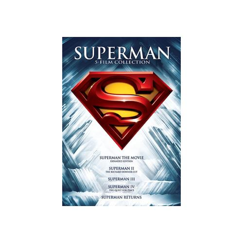 SUPERMAN 5 FILM COLLECTION (DVD/5 DISC/SUPERMAN 1-2-3-4&RETURNS) 883929380954
