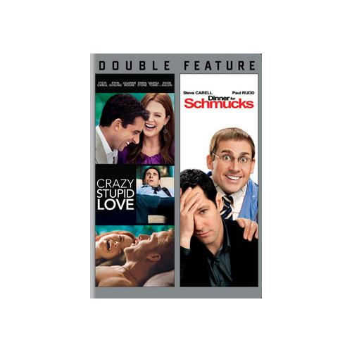 CRAZY STUPID LOVE/DINNER FOR SCHMUCKS (DVD/DBFE/WS) 883929389865