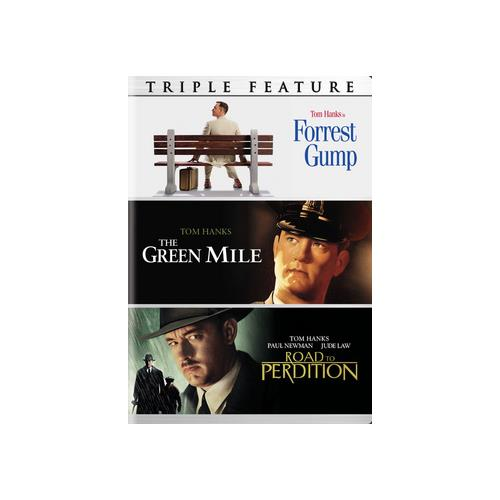 FORREST GUMP/GREEN MILE/ROAD TO PERDITION (DVD/3 DISC) 883929468300