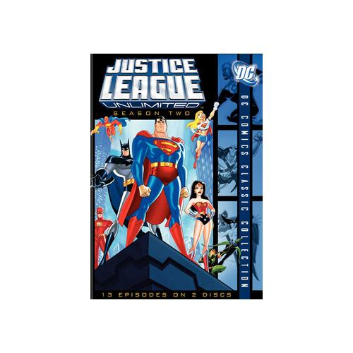 JUSTICE LEAGUE UNLIMITED-COMPLETE 2ND SEASON (DVD/WS-1.77/2 DISC) 12569723566