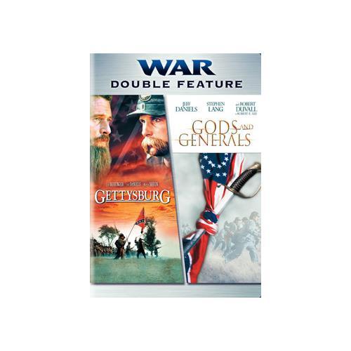 GETTYSBURG/GODS & GENERALS (DVD/DBFE/2 DISC) 12569829411