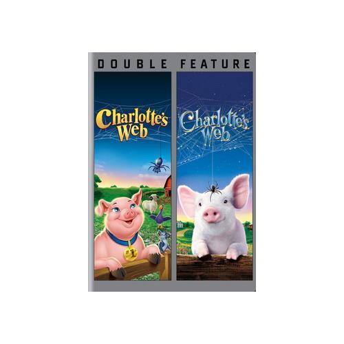 CHARLOTTES WEB 2006/CHARLOTTES WEB 1973 (DVD/DBFE) 883929393534