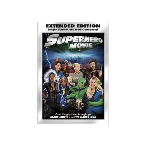 SUPERHERO MOVIE (DVD/EXTENDED EDITION/WS/ENG-SP-SUB/SELL-THROUGH ONLY) 796019813396