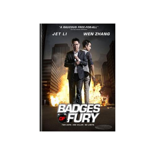 BADGES OF FURY (DVD/MANDARIN/ENGLISH DUB & SUB) 812491014424