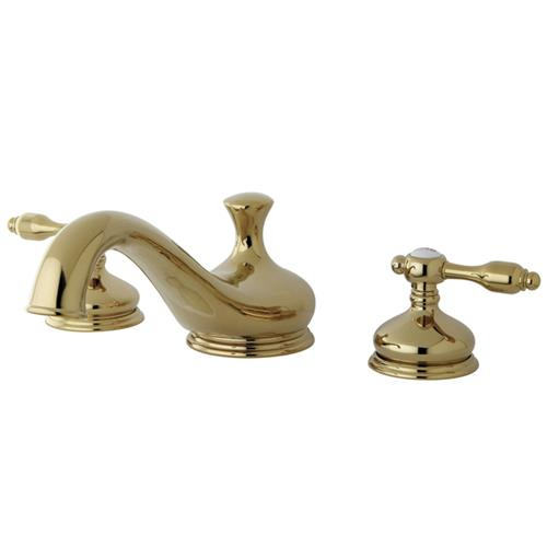 Kingston Brass Tudor Roman Tub Filler, KS3332TAL, Polished Brass KS3332TAL