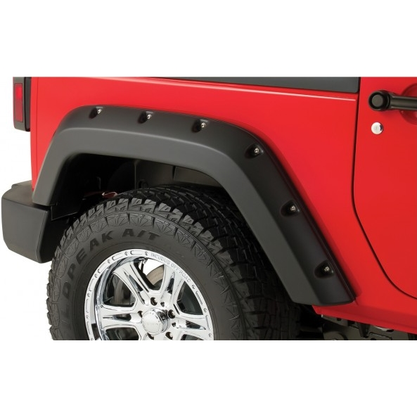 bushwacker pocket style fender flares jeep wrangler jk 2 door rear. Cars Review. Best American Auto & Cars Review