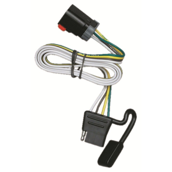 T one trailer hitch wiring harness dodge ram van