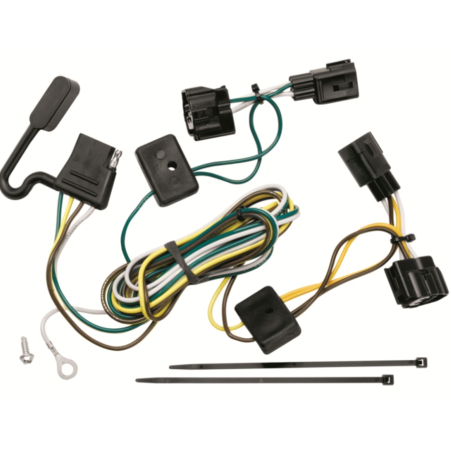 Wiring Harness Jeep : T one trailer hitch wiring harness jeep wrangler