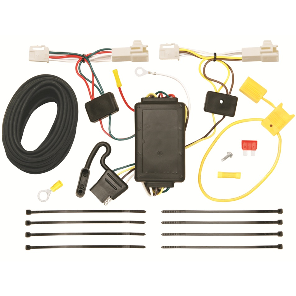 2010 Toyota Corolla Trailer Wiring Harness : T one trailer hitch wiring harness toyota corolla