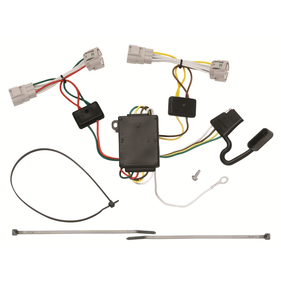 118496 t one trailer hitch wiring harness toyota tacoma 2005 2015 ebay
