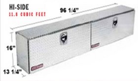 396 5 02 Weather Guard Aluminum Hi Side Truck Tool Box