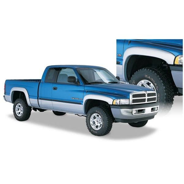 50903 02 bushwacker oe style fender flares dodge ram 1994 2001 ebay. Cars Review. Best American Auto & Cars Review