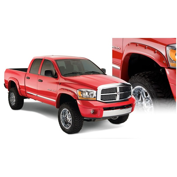 bushwacker pocket style fender flares dodge ram 8 bed 2006 2008 ebay. Cars Review. Best American Auto & Cars Review