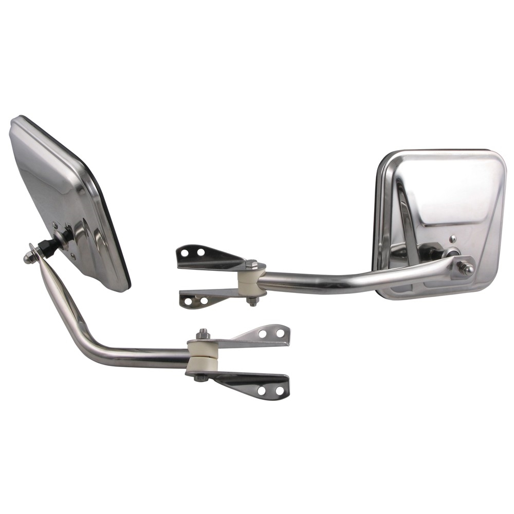 51263 00 Bestop Chrome Oe Replacement Mirrors For Jeep