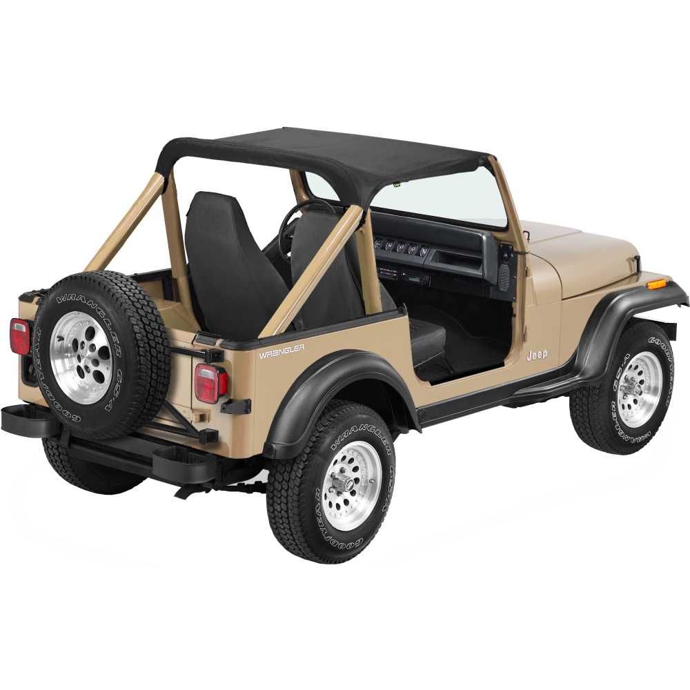01 bestop strapless bikini soft top black for jeep wrangler 1987 1991. Cars Review. Best American Auto & Cars Review