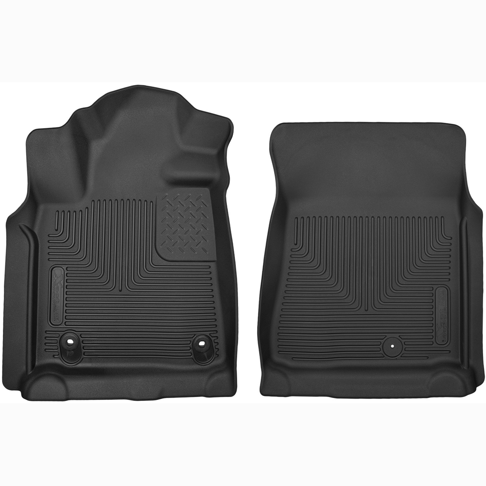 53711 Husky Liners X Act Contour Front Floor Liners For