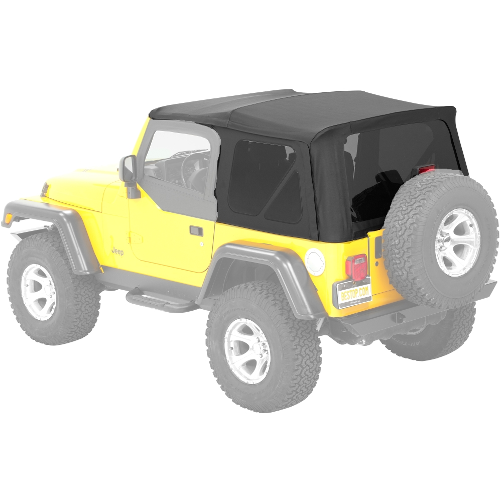 54720 15 Bestop Supertop Nx Factory Style Black For Jeep