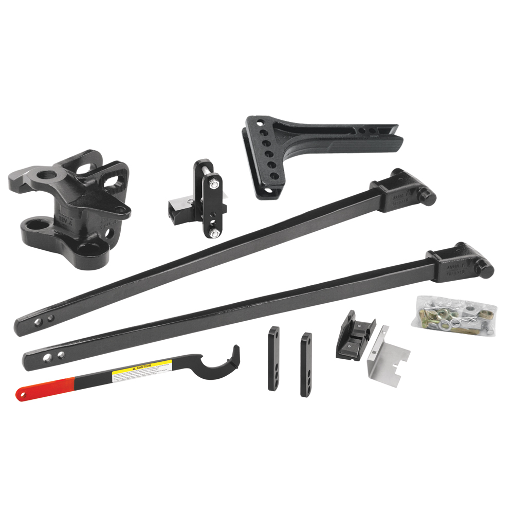 66157 Reese SC 1500lbs Trunnion Bar Weight Distribution Kit & Sway ...
