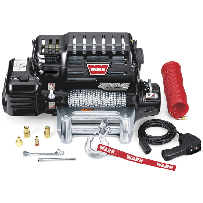 71801 Warn PowerPlant HD 12K Winch / Air Compressor