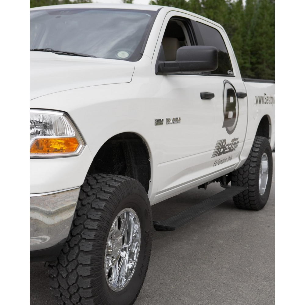 Bestop Powerboard Automatic Running Boards For Dodge Ram
