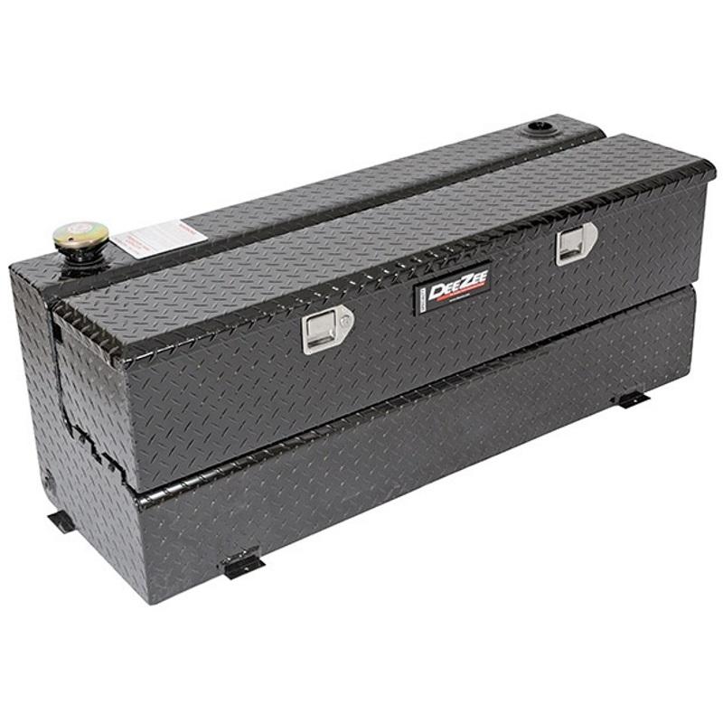 Fuel Tank Tool Box : Dz b dee zee aluminum truck fuel transfer tank toolbox