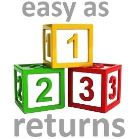 Easy As 1-2-3 Returns