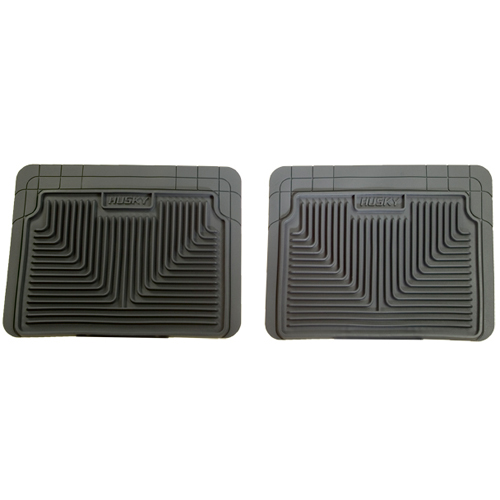 52022 husky liners grey heavy duty 2nd row floor mats for tacoma armada mkx f150 ebay. Black Bedroom Furniture Sets. Home Design Ideas