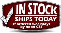 In-Stock. Ships same day when order is placed before 12 Noon CST M-F!