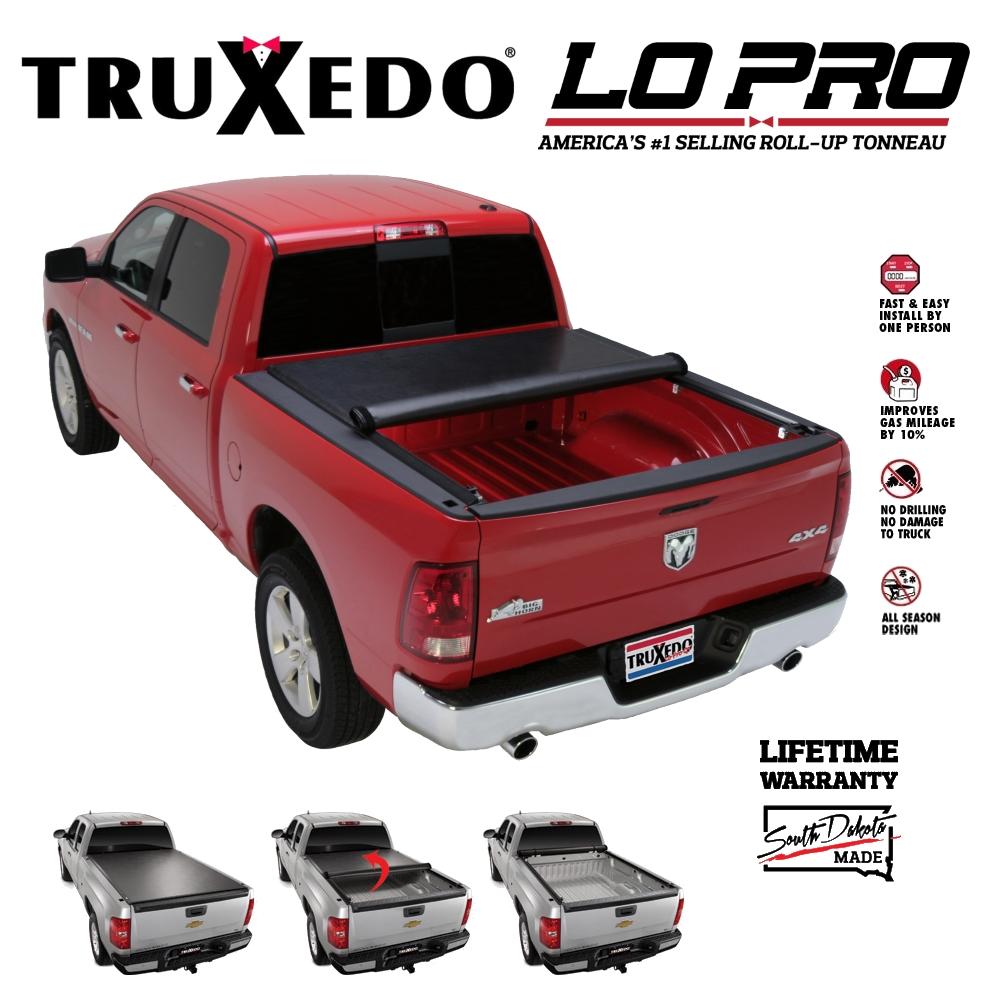 567101 truxedo lo pro qt tonneau cover ford f150 flareside bed