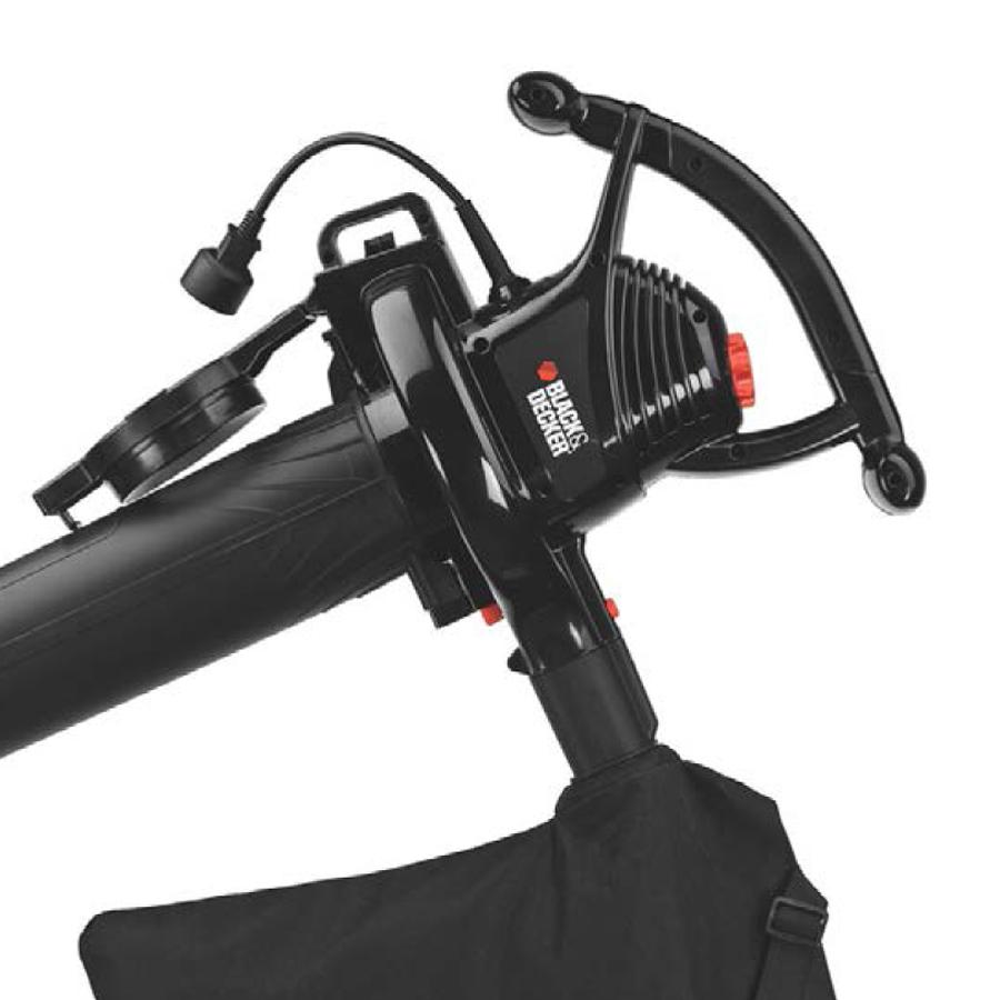 Corded Electric Leaf Blower : Black decker amp corded electric leaf blower vacuum