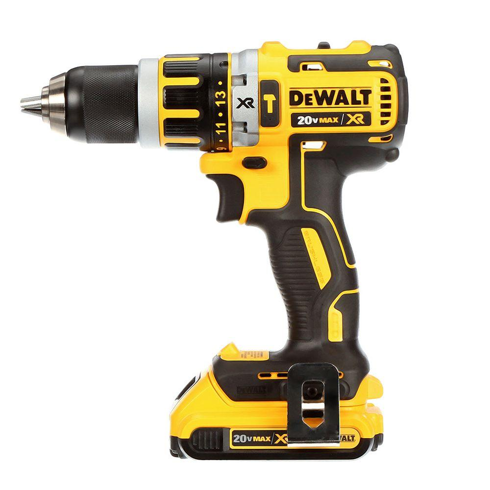 Dewalt 20v max cordless li ion 1 2 brushless 20 volt for Dewalt 20v brushless motor