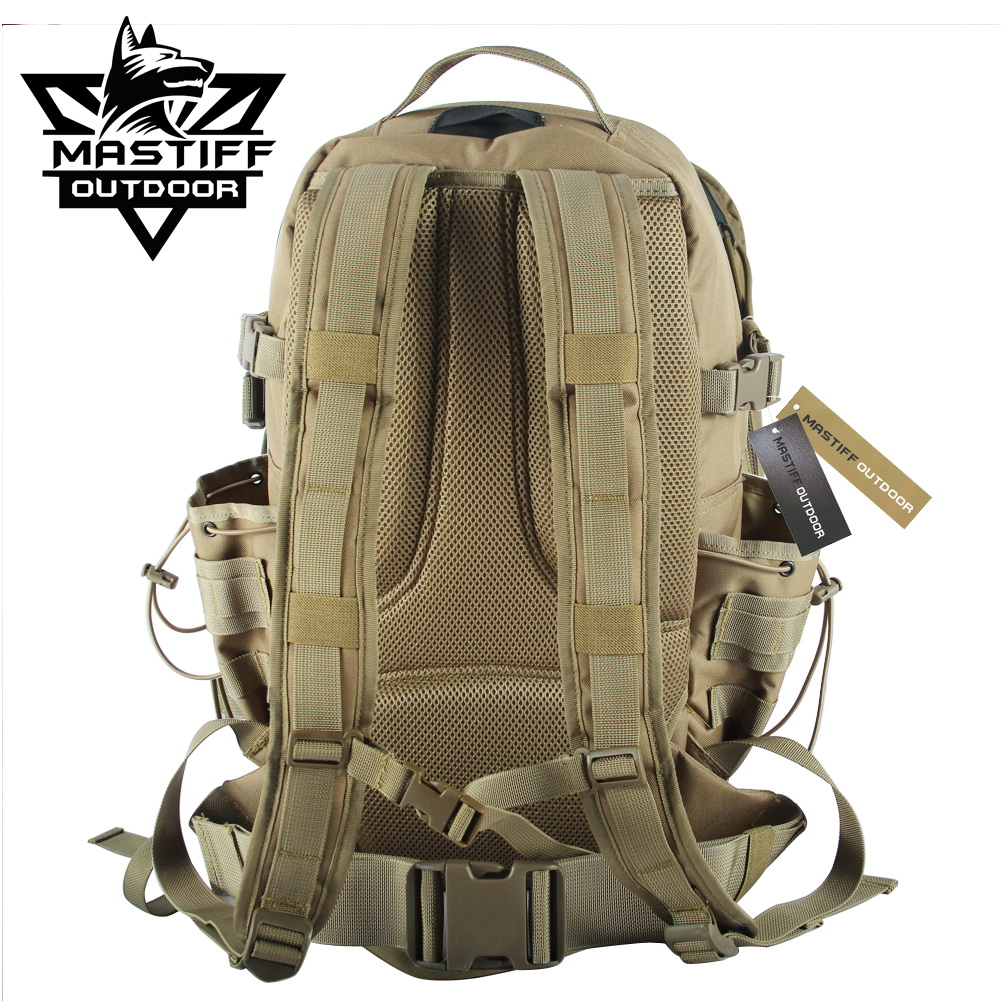 Mastiff outdoor tactical action backpack military molle for Outdoor rucksack