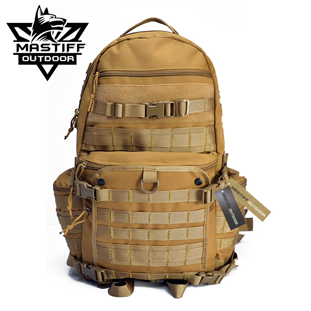 Mastiff outdoor rifle backpack tactical molle military for Outdoor rucksack